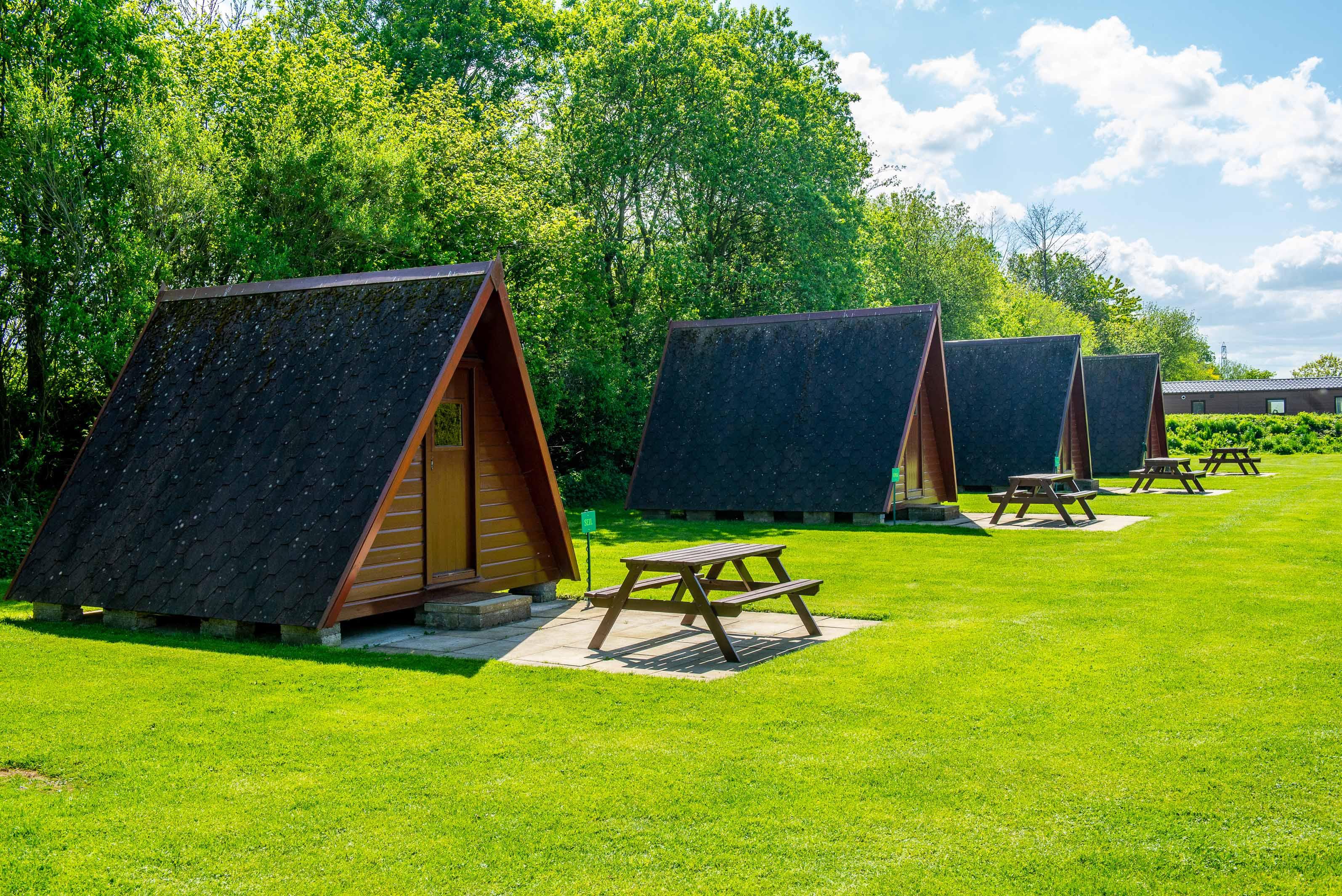 Linwater Caravan Park, Newbridge, Edinburgh  Camp site with